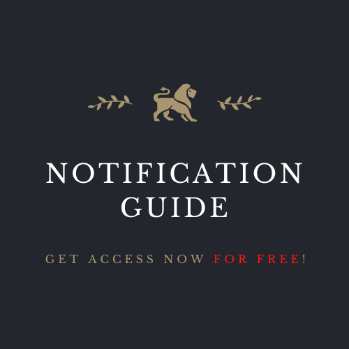 Notification Guide